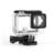 Lado aberto de esqueleto habitação compatível com gopro hero4 hero3 + câmeras com backdoor bacpac tocada painel tela lcd de proteção