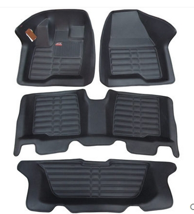 Chowtoto Special Floor Mats For Ford Explorer 7seats Durable Waterproof Leather Carpets