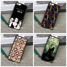 СИРОТА ЧЕРНЫЙ КЛОН КЛУБ мода original cell phone case for iphone 4 4S 5 5S 5C SE 6 плюс 6 s плюс 7 7 плюс # ZF28