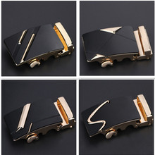 Fashion Men's Buckle Business Alloy Automatic Unique Plaque Belt Buckles for 3.5cm Ratchet Apparel Accessories buckle for men
