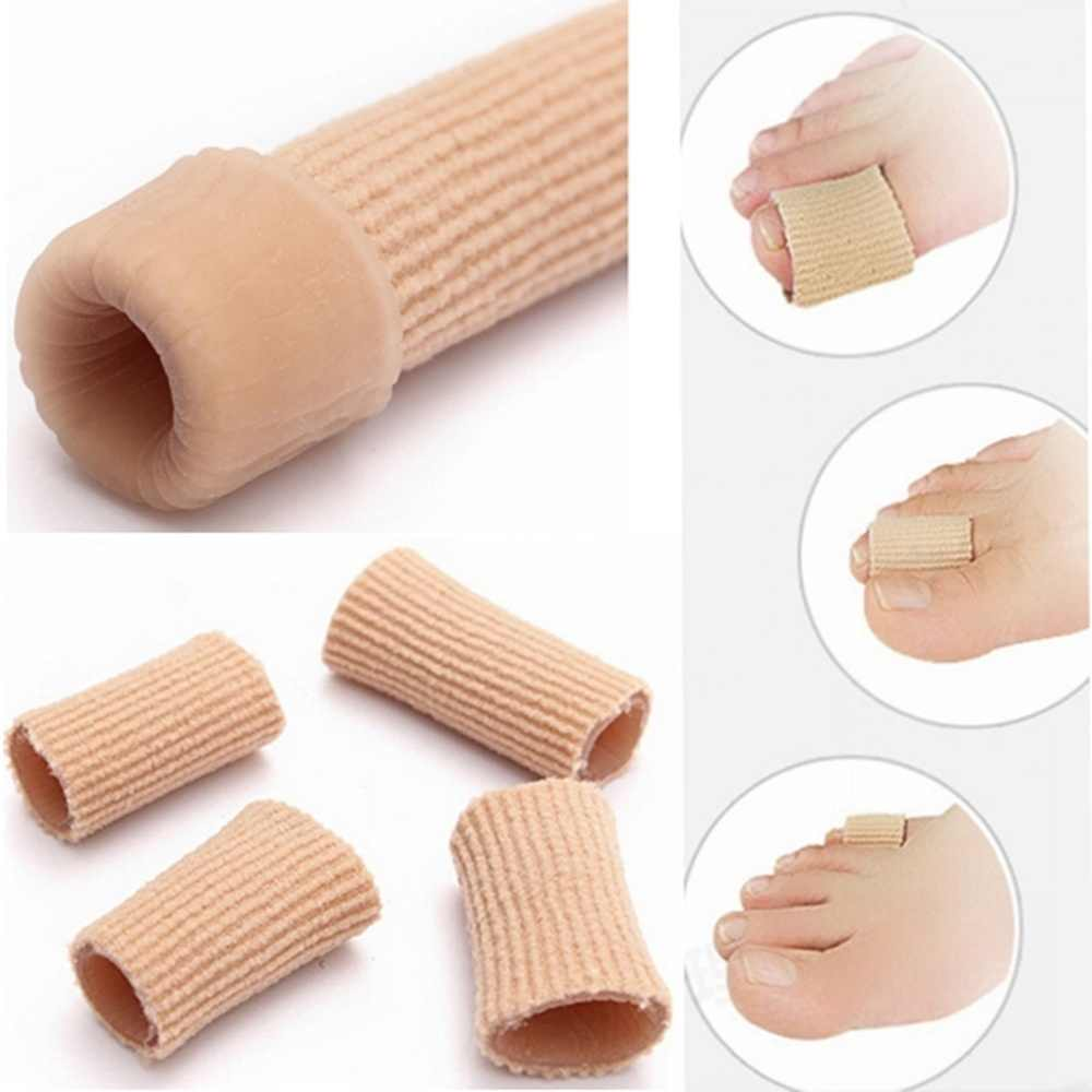 DIY Gel Tube Bunion Toe Protective Cover Finger Calluses Separator Blister Protector Cover For Ballet Shoes High Heels
