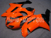 New For Kawasaki NINJA ZX6R 2007 2008 07 08 Bodywork Injection ABS Fairing Kits NINJA ZX 6R 07 08 Others Orange/Black