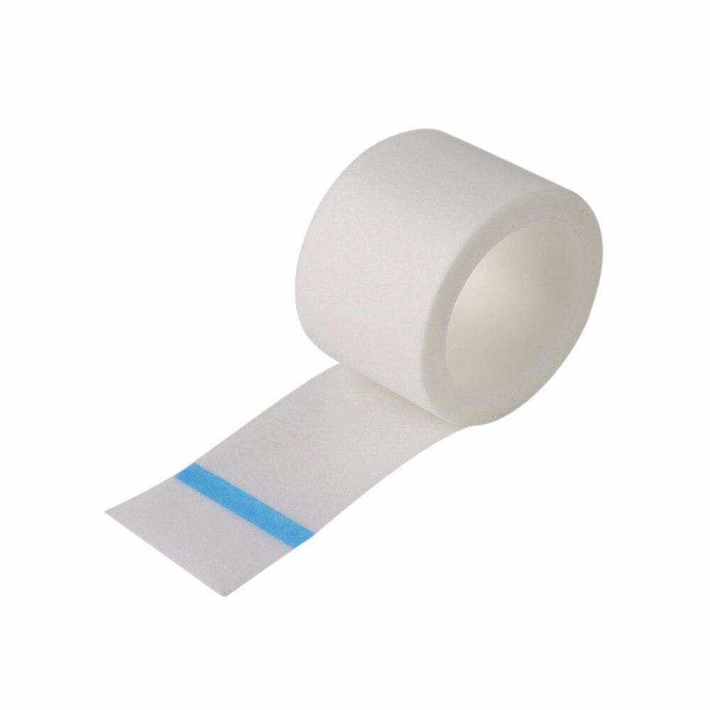 5 рулонов медицинский ресниц ленты нетканые Бумага лента под ресниц Индивидуальный Расширение питания макияж инструменты легко tear дешевые