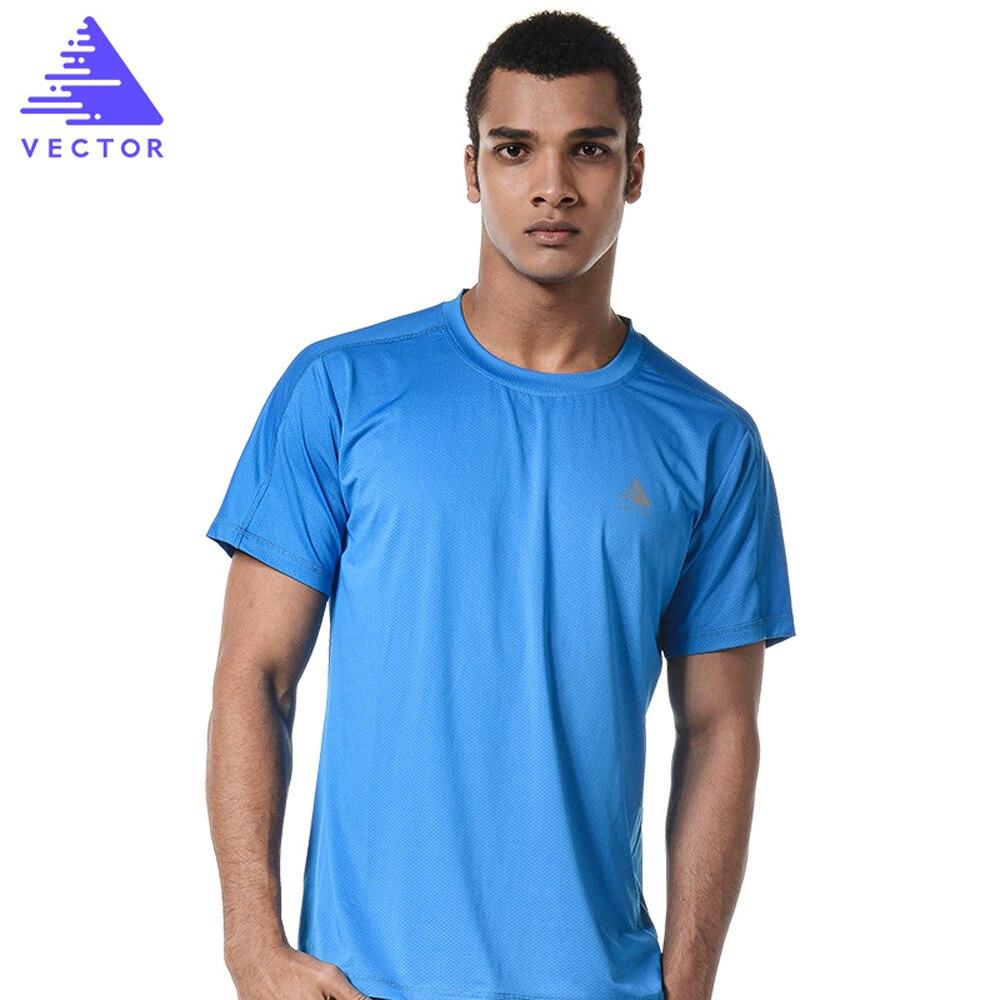 VECTOR Brand Quick Dry Shirt Men Women Short Sleeve Coolmax T-Shirt Outdoor Breathable Sport Running Climbing Hiking TXD10024