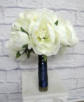 camellias Wedding Bouquets White Artificial Bridal Bouquets home decoration