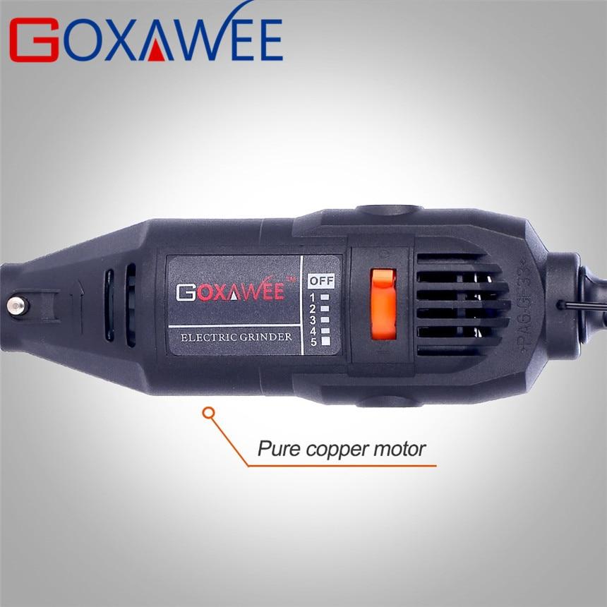 """""""GOXAWEE 130W"""" elektrinis mini gręžimo graviravimo """"Dremel"""" - Elektriniai įrankiai - Nuotrauka 3"""