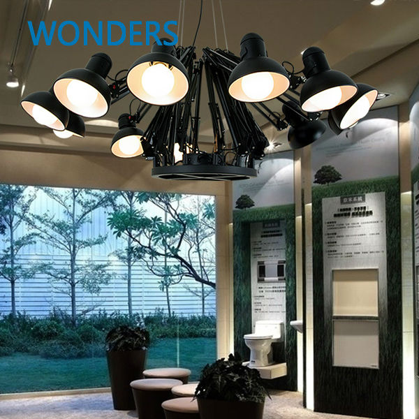 Modern  American Personality lamp Spider  Extendable light Pendant Scalable Lamp home/office/bar decoration light lamp modern american personality lamp spider extendable light pendant scalable lamp home office bar decoration light lamp