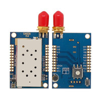 2pcs Lot Wireless Voice Transmitter SA828 All In One UHF VHF Frequency Embedded Walkie Talkie Modules