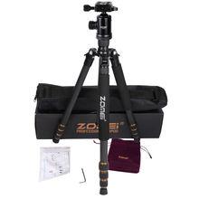 ZomeiZ 688c Tripod Micro SLR Camera Traveling Convenient Triangle Frame SLR Photography Tripod Aluminum Alloy Carbon