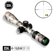 цена на Bobcat King Optics BK 4-16X44 SFIR camouflage appearance tactical optical sight sniper hunting rifle aiming air gun riflescope