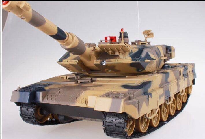1:24 réservoir de combat RC à grande échelle recharge radio à distance batterie armée modèle militaire rc réservoirs jouet cadeau SINONING
