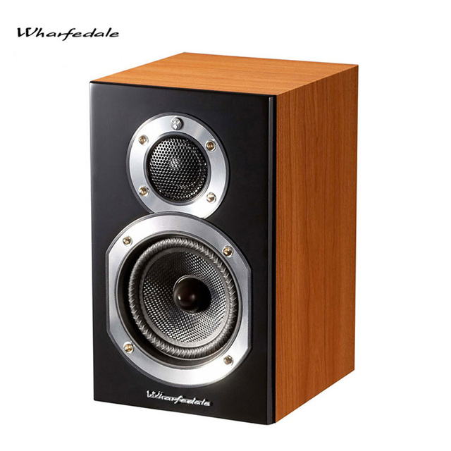 Wharfedale Diamond 100 Bookshelf Speakers Hifi Wood DJ Bass Multimedia Speaker Professional Audio 51 Home Theater