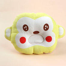 Baby Sleep Positioner Support Pillow Cotton Infant Monkey Shaping Pillow Cushion Prevent Flat Head Baby Pillow(China)