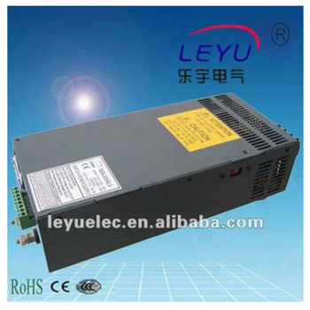 LEYU PFC Function SMPS   SP-600 series output 600w 12V 24V 48V Switching Power Supply