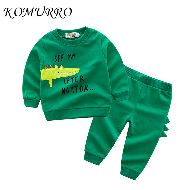 ef6daa26e943 Lowered Kids Clothing Sets Boys Long Sleeve T-Shirt + Pants Boys ...