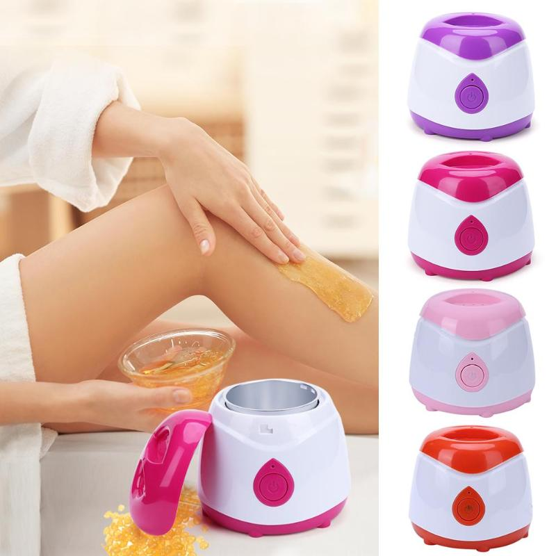 Pro ABS Warmer Wax Heater Mini SPA Hand Feet Epilator Rechargeable Machine Body Depilatory Hair Removal Tool Bean Kit Dropship