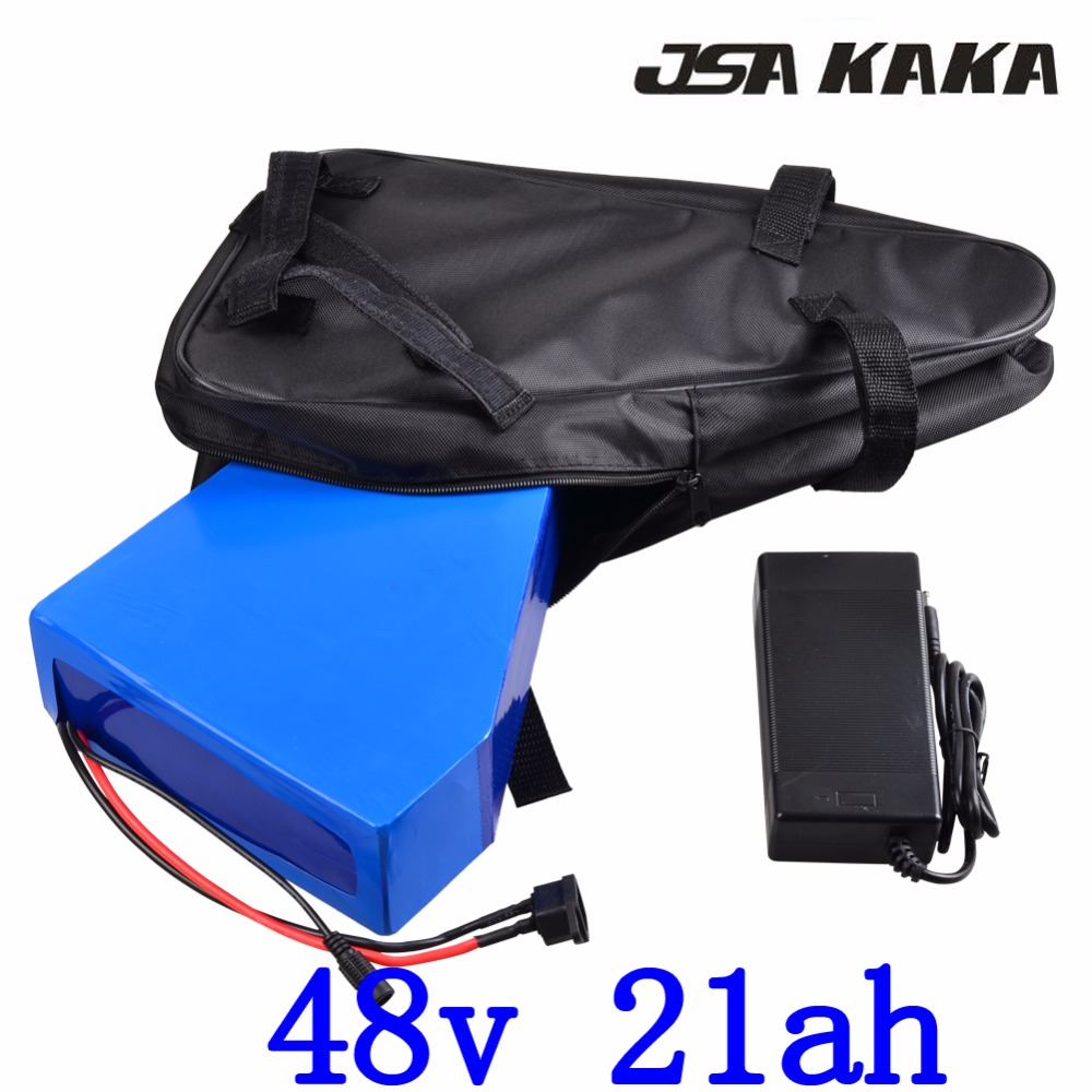 Free customs duty 48V 2000W lithium battery 48V 20AH ebike battery 48V 20AH electric bike battery with 50A BMS+ 54.6V 5A charger