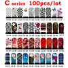 100sheets Water Transfer Nail Art Stickers Decals Flowers Design Nail Tips Wraps Decoration DIY Nail Beauty