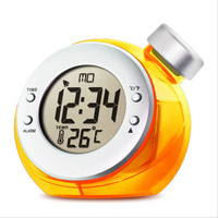 The temperature version of the mini kettle can electronic alarm clock.