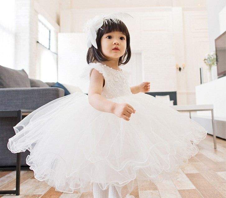 Baptism Gift Girl Christmas Ornament For Baby Girl Baptism: Toddler Girl White Sequin Baptism Dress Christmas Costumes
