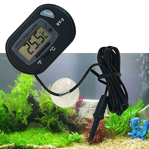 Mini LCD Digital Terrarium Marine Temperature Fish Tank Aquarium Thermometer
