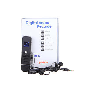 Mp3-Player Voice-Recorder Lcd-Display Digital 8GB Monitoring-Function Autio High-Quality