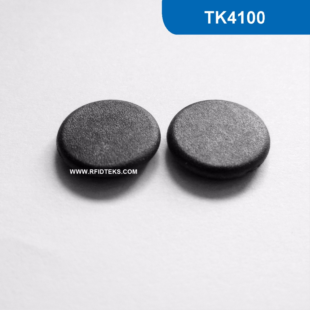G13 Dia 13mm RFID Mini Tag Passive RFID Anti-High Temperature Industry Tag 125KHz Read Only with TK4100 Chip waterproof contactless proximity tk4100 chip 125khz abs passive rfid waste bin worm tag for waste management