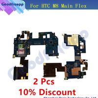 For HTC One M8 831C Main Flex Power Button Connector With Mic Mainboard FPC Main Flex