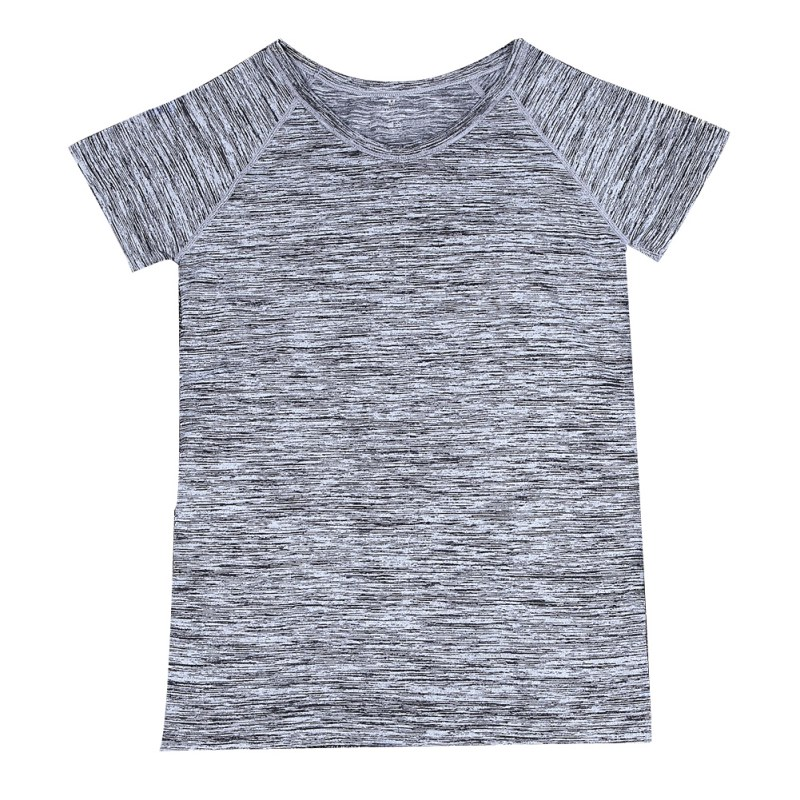 Quick Dry Professional Women Sports T Shirt For Yoga Fitness Running Jogging Gym Sweat Breathable Exercises Short Sleeve Tops
