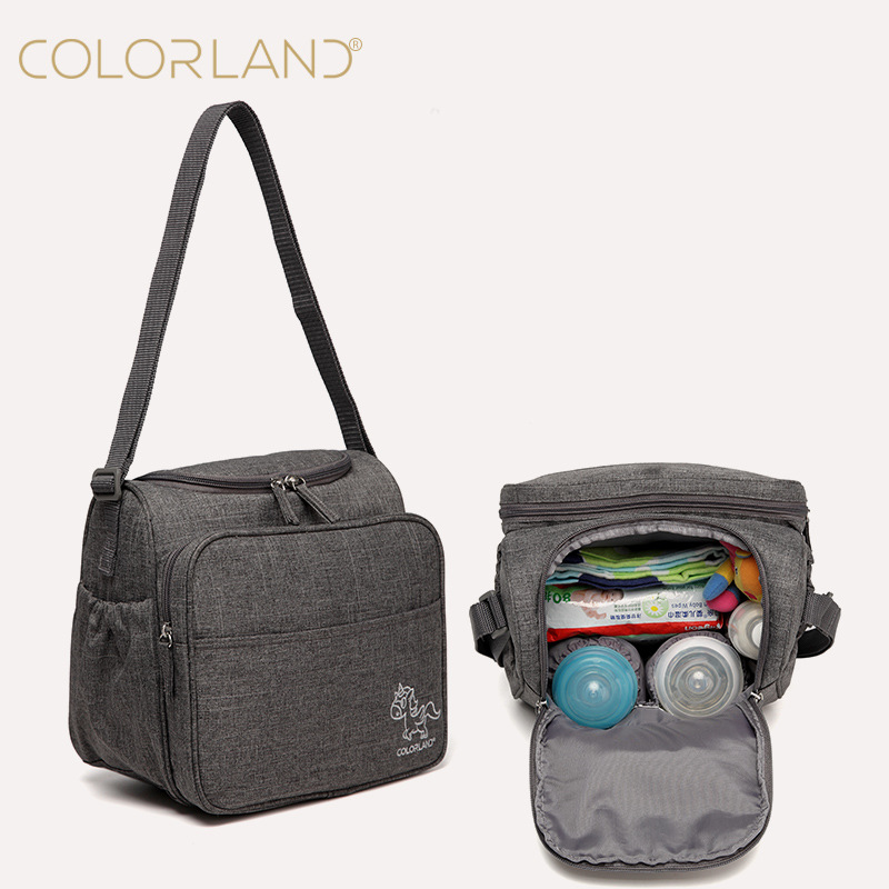 COLORLAND Baby Care Diaper Bag Mom Backpack Nappy Changing Maternity Stroller Mommy Mummy Wet Organizer Mother Mini Wetbag