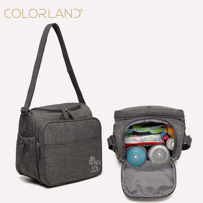 0fd6829658 COLORLAND Baby Care Diaper Bag Mom Backpack Nappy Changing Maternity  Stroller Mommy Mummy Wet Organizer Mother