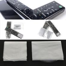 10 sztuk folia termokurczliwa dla Apple Samsung LG TV klimatyzator zdalnego sterowania pokrywa folia termokurczliwa dla TV zdalna okładka tanie tanio OOTDTY CN (pochodzenie) Remote Control Cover