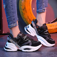 Plus Size 35 44 Shoes Women Trendy Women Sneakers Thick Sole Ladies Platform Shoes Chunky Dad Sneakers Chaussures Femme