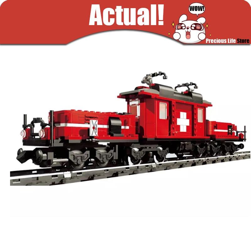 Lepin font b Hobby b font Trains Locomotive 1130Pcs Technic 21011 Building Blocks Bricks Educational font