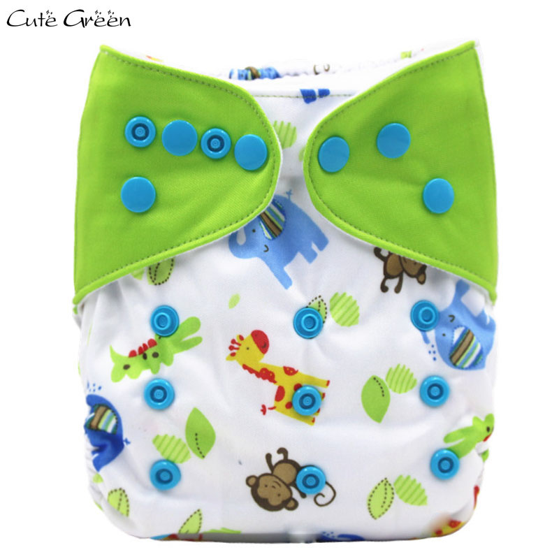 Splice Tab Design Baby Pocket Cloth Diaper Reusable Waterproof PUL Suede Cloth Infant Baby Nappy Washable Baby Diapers Nappies