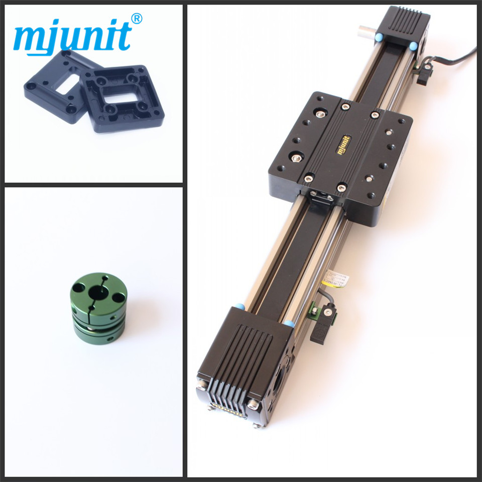 Linear Slide Unit Belt Driven/ Robot Belt Drive Linear Actuator 1000mm Travel belt driven linear slide rail belt drive guideway professional manufacturer of actuator system axis positioning