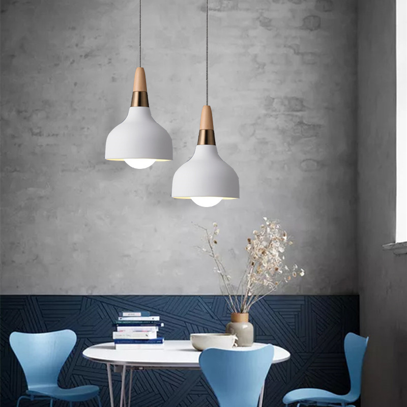 White Pendant Light For Kitchen Island Metal Lighting Fixtures Bedroom Lights Bar Modern Ceiling Lamp Shop Pendant LampsWhite Pendant Light For Kitchen Island Metal Lighting Fixtures Bedroom Lights Bar Modern Ceiling Lamp Shop Pendant Lamps