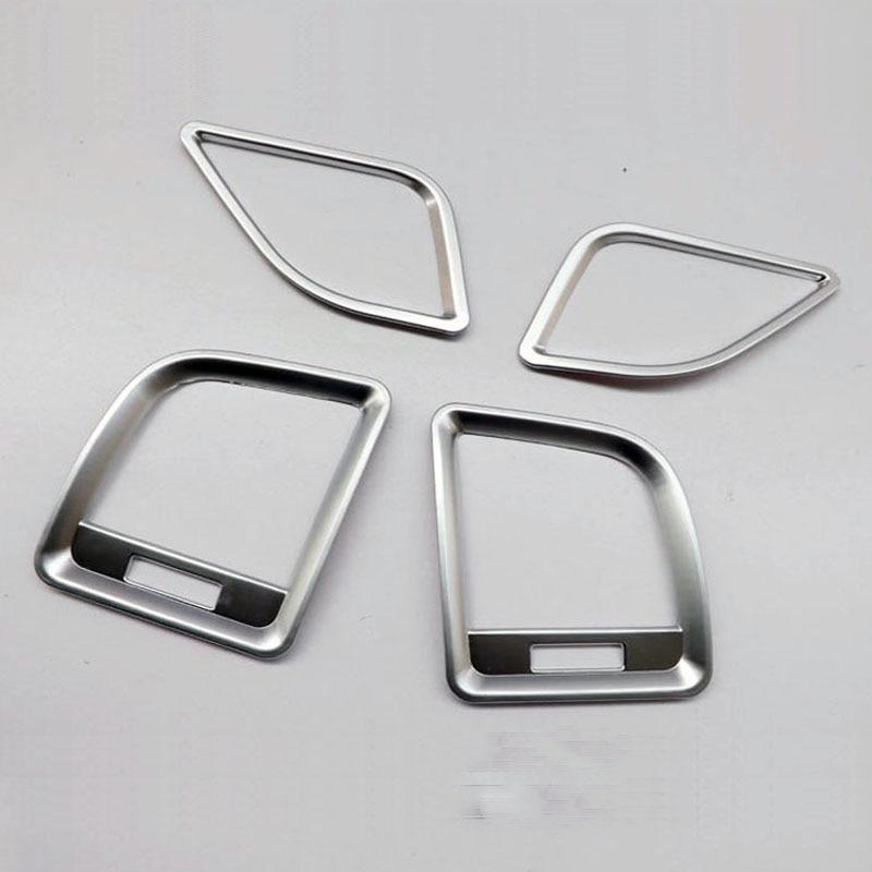For Mazda CX-5 Cx 5 Cx5 KE 2012 2013 2014 2015 2016 Chrome Air Vent Trim Cover Trim Car Styling Sticker Interior Accessories