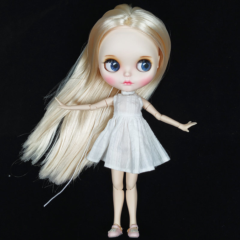 30cm 12inches Blyth Doll With Golden Straight Hair ,Big eyes Fashion Doll Suitable For DIY Change Hot Sale For Girls Gift30cm 12inches Blyth Doll With Golden Straight Hair ,Big eyes Fashion Doll Suitable For DIY Change Hot Sale For Girls Gift