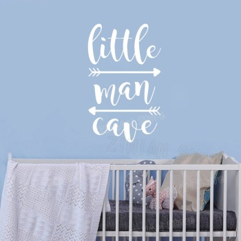 Little Man Cave Wall Decals 1