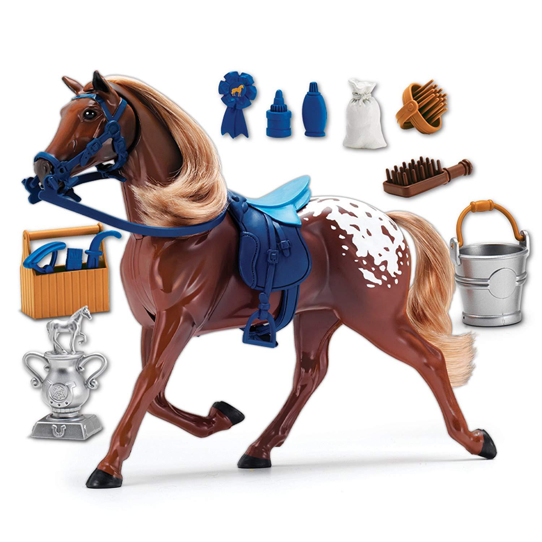 Faire semblant de jouer cheval ensoleillé jours divertissement ruban bleu Champions Deluxe cheval enfants jouer jouets 3-12 ans
