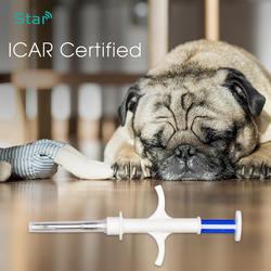 Pet микрочипы 2,12*12 мм 1,4*8 мм 1,25*7 мм fdx-b стерилизации pet/ собака мышей отслеживания животного микрочип RFID с шприц