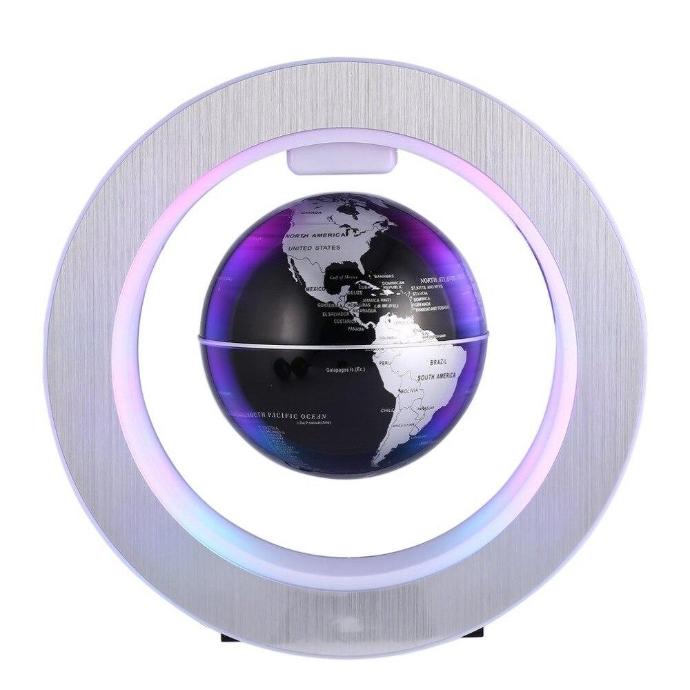 ACEHE Géographie globe terrestre globe flottant magnétique led Lévitation Rotation Tellurion carte Du Monde école de fournitures de bureau décoration d'intérieur
