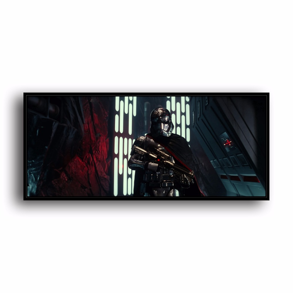 Star Wars Living Room Art: SR100008 Darth Vader Star Wars Warrior Cartoon Movie.HD