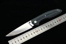 Fule 110 ejes rodamiento de rodillos cuchillo plegable lámina D2 G10 manejar exterior supervivencia camping caza del bolsillo cuchillos herramientas EDC