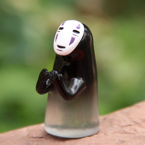 Best Seller New Arrival Miyazaki Hayao Spirited Away No Face Man Diy Doll Ornaments Model Landscape Action Figure Toy Collection Cartoon 43 The Toys Garden 96