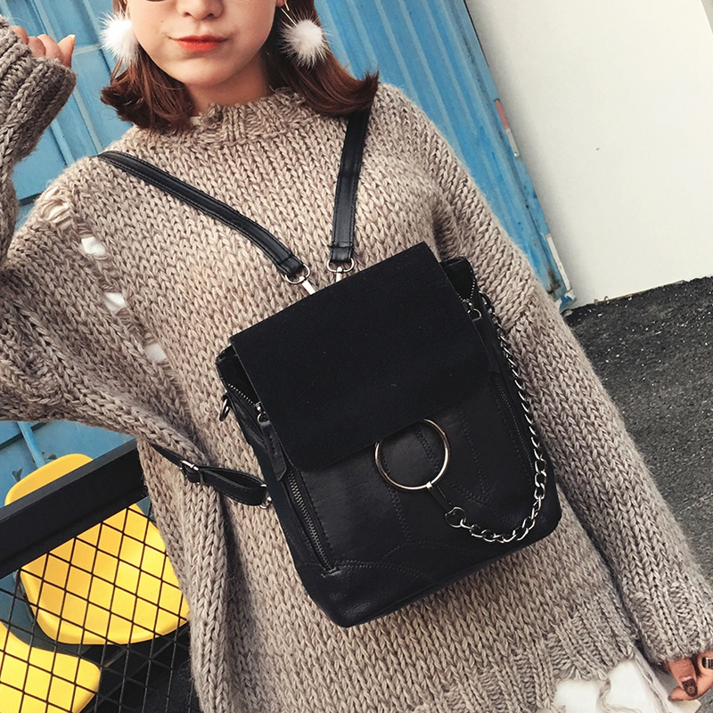Most Cost-effective Backpack Vintage Women Shoulder Bag Girls Fashion Schoolbag Small