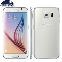 Original Unlocked Samsung Galaxy S6 4G LTE Mobile Phone 3G RAM 32G ROM 5.1 16.0MP Octa Core WIFI NFC Smartphone