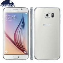 "Original Entsperrt Samsung Galaxy S6 4G LTE Handy 3G RAM 32G ROM 5,1 ""16.0MP Octa core WIFI NFC Smartphone(China)"