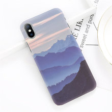 Anti-Knock Landscape Printed Phone Case for iPhone